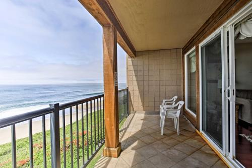 Oceanfront Oregon Getaway Steps to Lincoln Beach