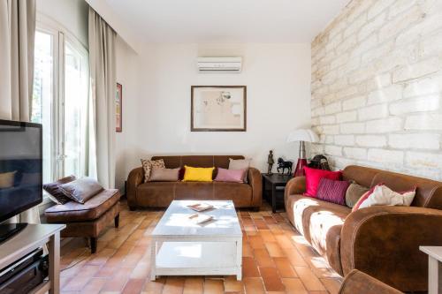Maison avec clim AC jardin et parking à Aiguelongue Class Appart