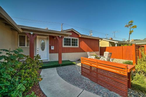 Central Santa Clara Home w Beautiful Outdoor Areas