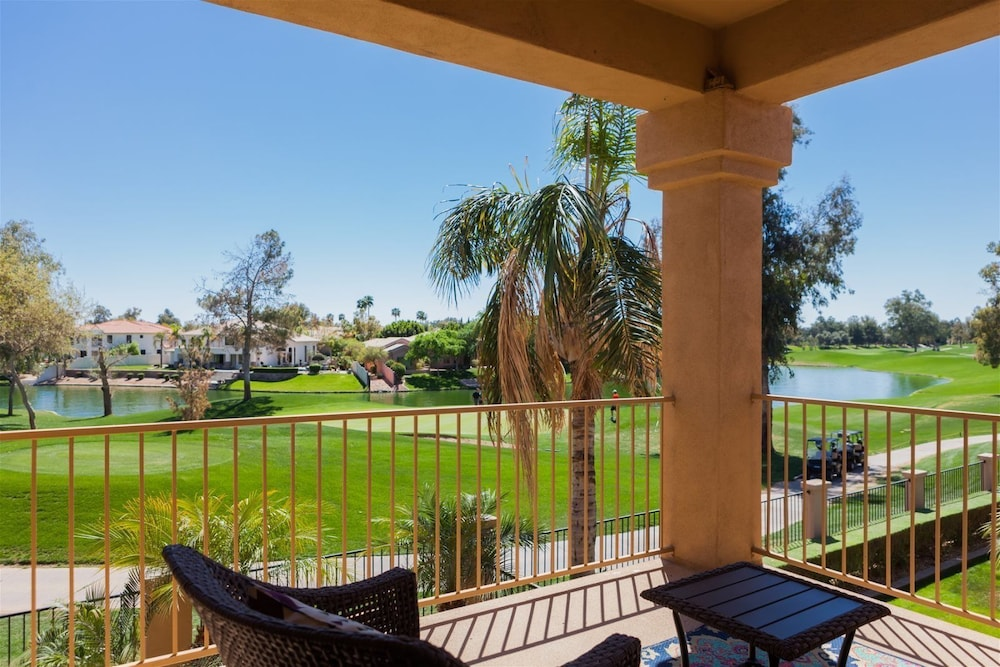 3BR Gated Ocotillo Home Pool Golf Course Views