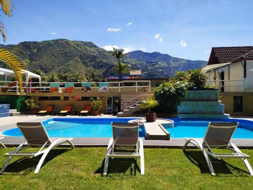 Monte Selva - Hotel en Baños Ecuador