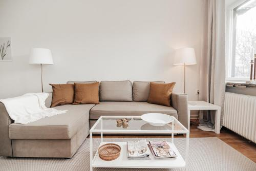 Beautiful Flat with Private Terrace close to Globen