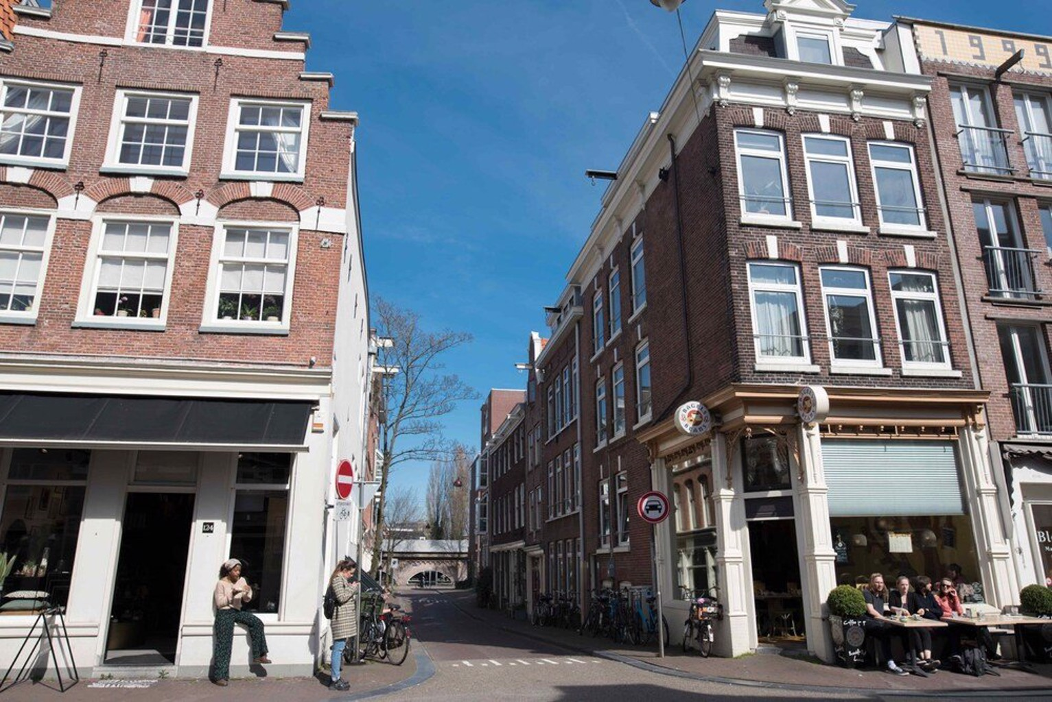 Jordaan apartments Noordermarkt area