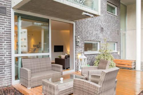 Nordic Host Waldemars Hage 4 3BD 2BD Apartment