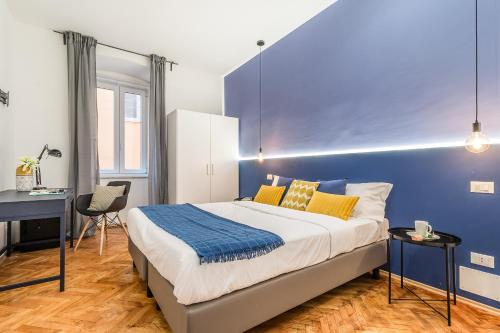 Pregiata camera con bagno privato Blu di Prussia